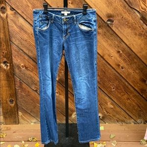 Cabi #514 blue Moon Indie style Jeans